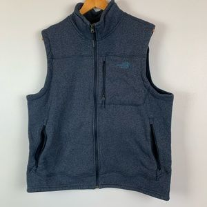 The North Face 2XL Fleece Full Zip Sweater Vest